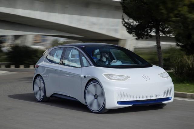 Volkswagen Showcar I.D.; VW ID Elektroauto