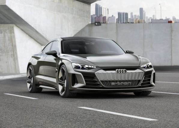 Audi E-Tron GT Elektroauto