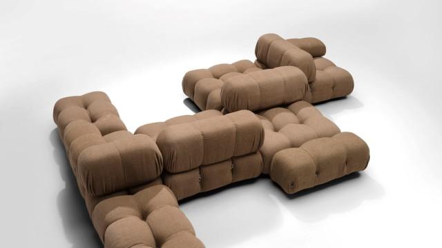 Upholstered Camaleonda by Mario Bellini