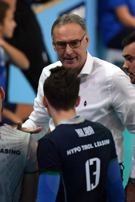 VOLLEYBALL VBL Tirol vs Berlin INNSBRUCK AUSTRIA 02 DEC 18 VOLLEYBALL VBL Volleyball Bundes