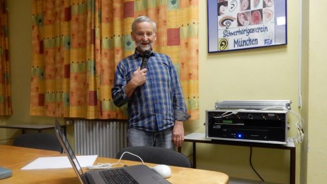 Lothar Fritzsche, Selbsthilfegruppe der Schwerhörigen im Oberland