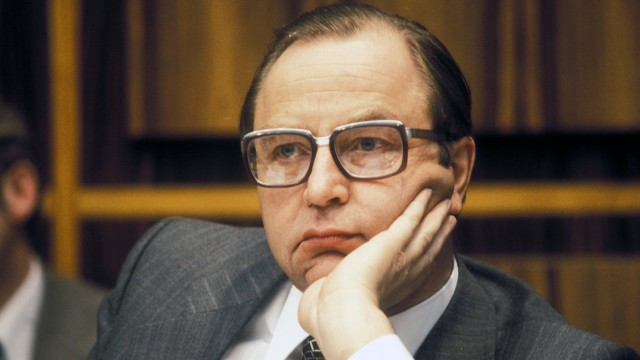 Horst Herold Deutschland Präsident Bundeskriminalamt