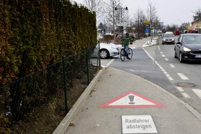 Fahradfahren in EBE - Gefahrenpunkte