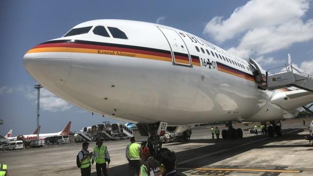 "Regierungsflugzeug ´Konrad Adenauer"""
