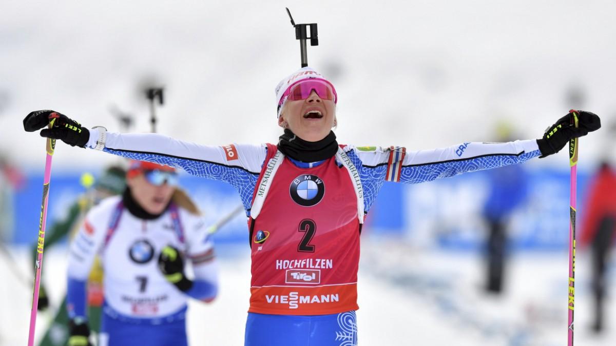 Biathletin Kaisa Mäkäräinen - Sie überdauert alle