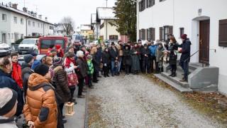 Süddeutsche Zeitung Bad Tölz-Wolfratshausen Demo in der Alpenstraße