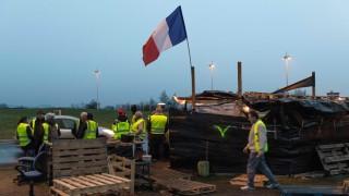 Frankreich Besuch bei den Gelben Westen