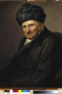 'Probst Johann Joachim Spalding im Hausrock'