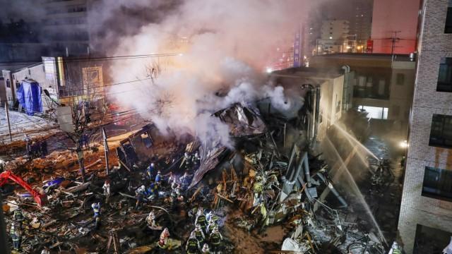 Explosion in Sapporo, Japan