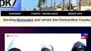 Bildschirmfoto Homepage vpk-tv