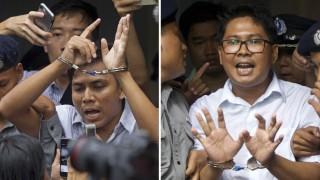 Inhaftierter Reuters-Journalist in Myanmar