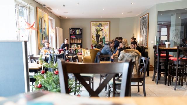Das Café-Restaurant Leib&Siegel in der Auenstraße 100 am 11.12.2018 in München.