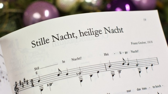 """Weihnachtslied ´Stille Nacht"""""""