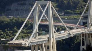 Unglücks-Brücke in Genua