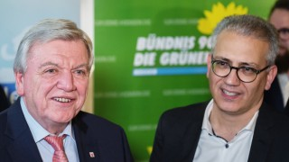Koalitionsvertrag von CDUund Grüne in Hessen