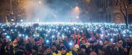 Politik Ungarn Proteste in Ungarn