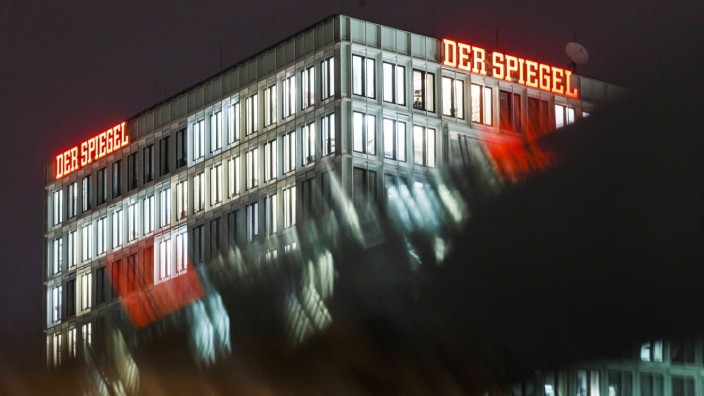 The building of the publishing company of German news magazine Der Spiegel in Hamburg Germany 02