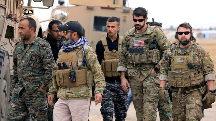 USA Syrien Abzug