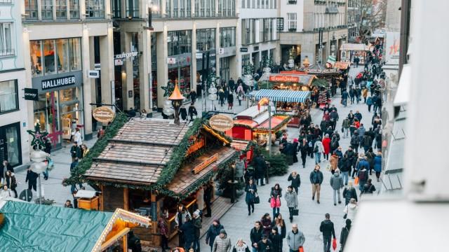 Weihnachtsshopping Einhändler Onlineshopping