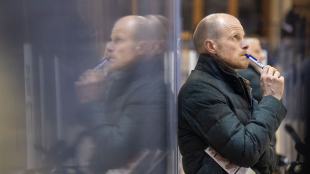 Eishockey-Bundestrainer Toni Söderholm