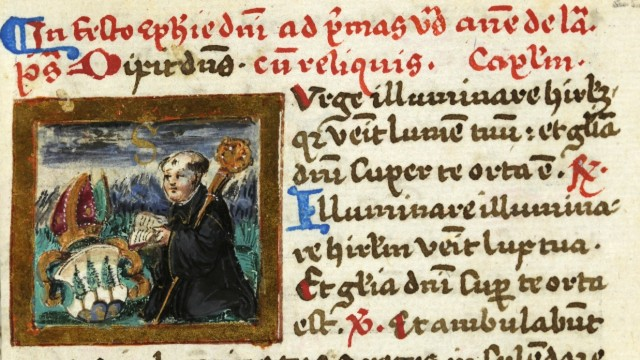 Von Bücherschätzen und gelehrten Mönchen.