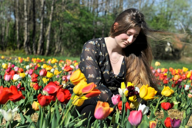 Dießen: Blumenfeld