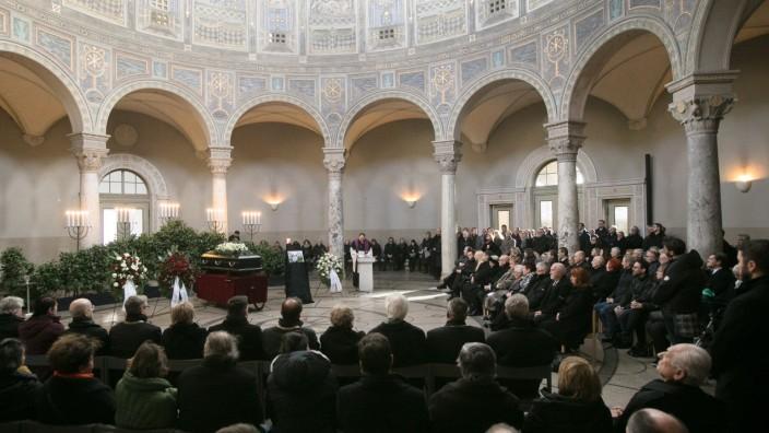 Beerdigung Alexander Miklosy, Westfriehof