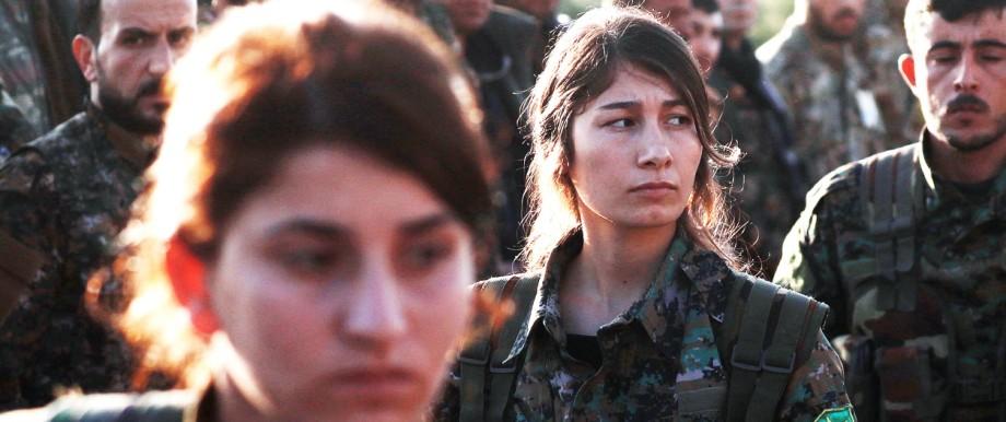Politik USA Kurden in Nordsyrien