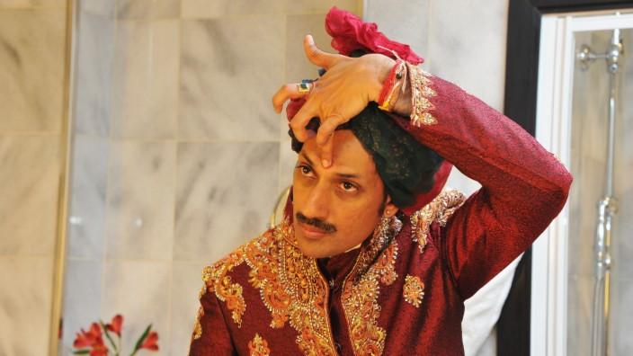 Prince Manvendra Singh Gohil Prepares for AIDES Gala Dinner