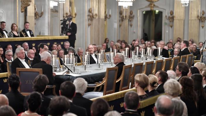 Sitzung der Schwedischen Akademie