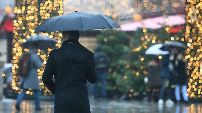 Regen zum 4. Advent