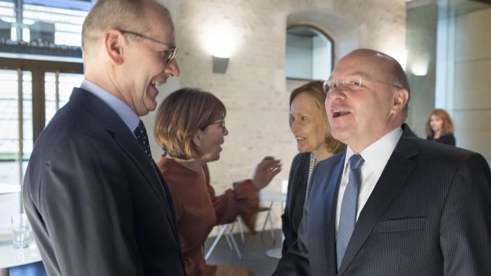 Verabschiedung von Klaus Knörr, Vorstandsvorsitzender der Sparkasse Fürstenfeldbruck