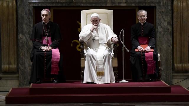 Papst Franziskus zu Vertuschung von Missbrauch