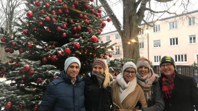 Heimfahrer an Weihnachten: Theresa Huber im Kreis ihrer Familie