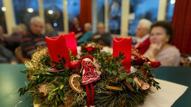 Weihnachtsfeier im Senioren-Zentrum Isen