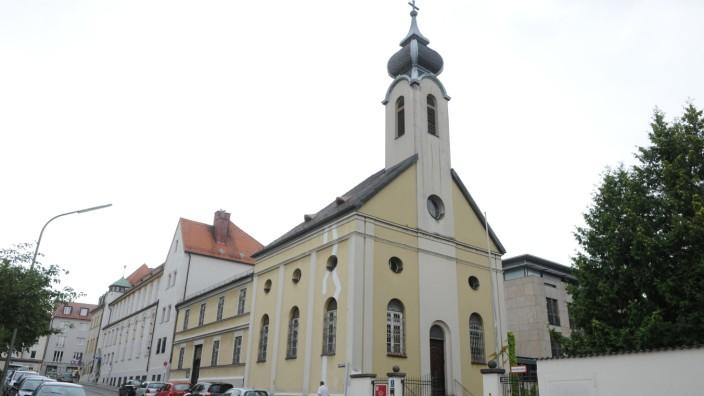 """Kloster und Kirche der """"Englischen Fräulein"""" in Pasing, 2012"""