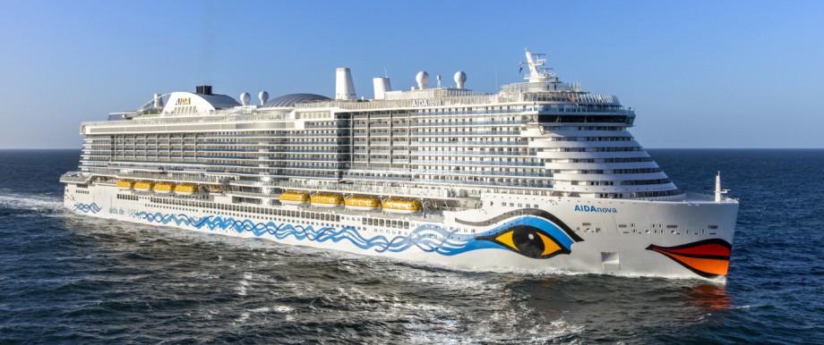 """Die """"AidaNova"""" istdas erste Flüssiggas-Schiff"""