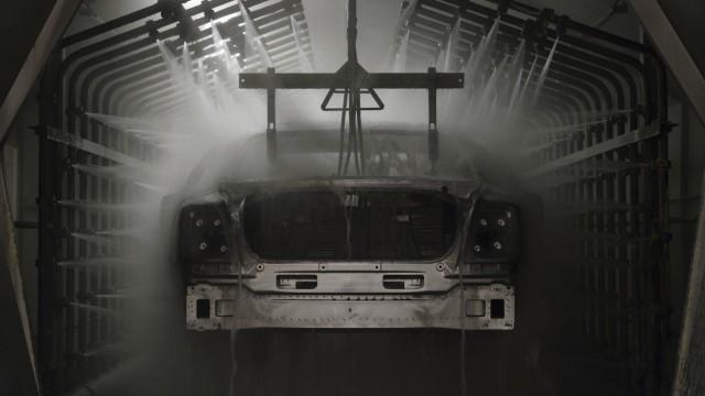 Bentley Fabrik