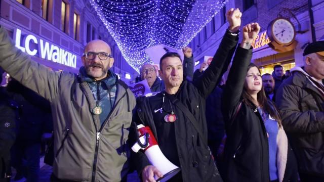 Bosnien Proteste David