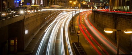 München: Verkehr Giesing, Tegernseer Landstrasse