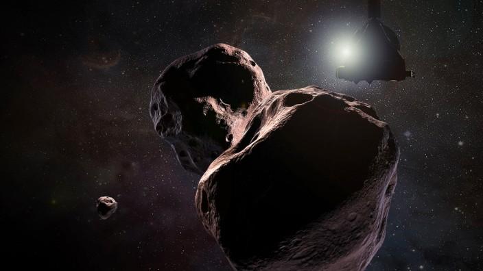 "Nasa-Sonde ´New Horizons"" trifft ´Ultima Thule"""