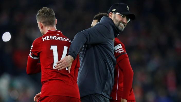 Riesiger Vorsprung Des Fc Liverpool In England Sport Sz De