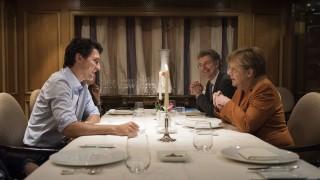 Canadian Prime Minister Justin Trudeau Visits Berlin