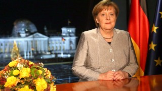 EMBARGOED FOR PUBLICATION: Angela Merkel Record New Year's Address