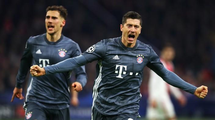 ***BESTPIX*** Ajax v FC Bayern Muenchen - UEFA Champions League Group E