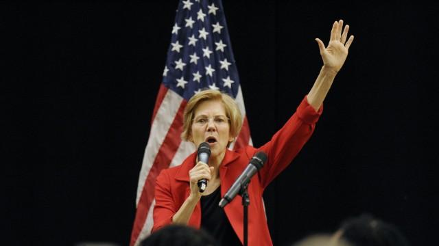 Democratic senator Warren takes major step towards White House bid