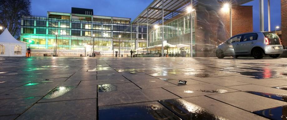 Berliner Platz nach dem Attentat
