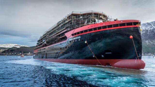 Kreuzfahrt Kreuzfahrtschiff mit Hybridtechnik