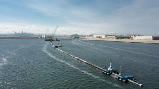 "´The Ocean Cleanup"" - Meeres-Müllsäuberung vor San Francisco"