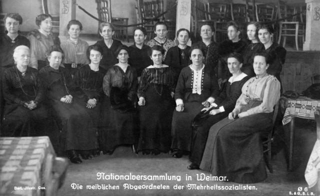 Weimarer Republik - Nationalversammlung 1919